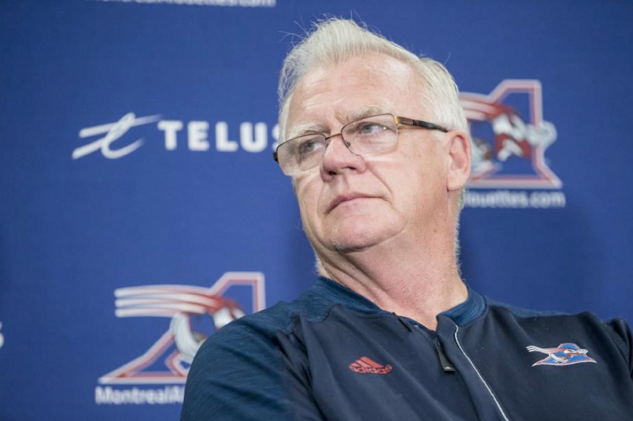 L'entraîneur-chef des Alouettes de Montréal, Mike Sherman.... (Photo Edouard Plante-Fréchette, archives La Presse)