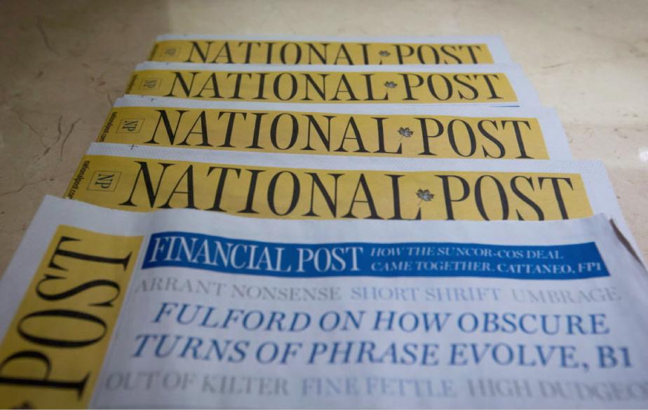 Les revenus trimestriels de Postmedia ont reculé à... (Photo Darryl Dyck, archives La Presse canadienne)