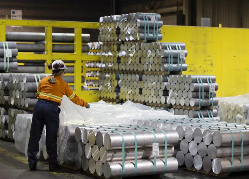 L'aluminium se taille une place grandissante dans l'industrie... (Photo d'archives Bloomberg)