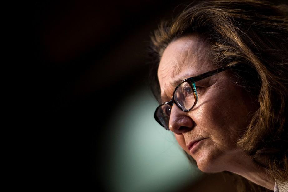Gina Haspel, directrice de la CIA.... (Photo BRENDAN SMIALOWSKI, Archives AFP)