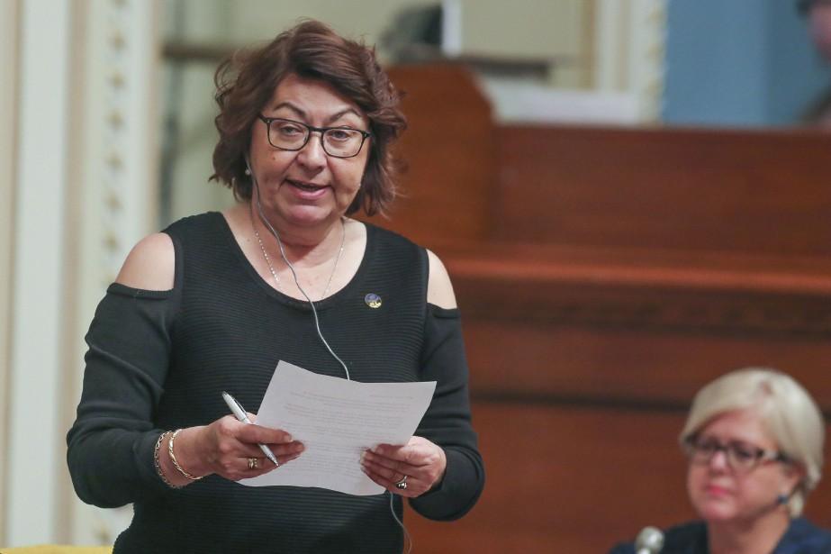 La députée de la CAQ, Claire Samson... (Photo FRANCIS VACHON, archives La Presse canadienne)