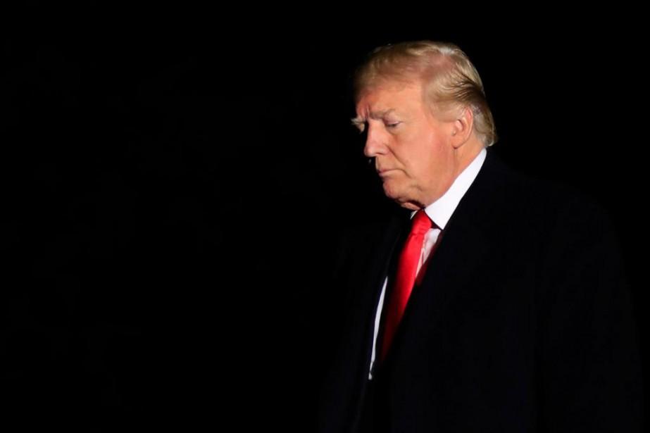 Le président des États-Unis, Donald Trump... (Photo Manuel Balce Ceneta, Associated Press)