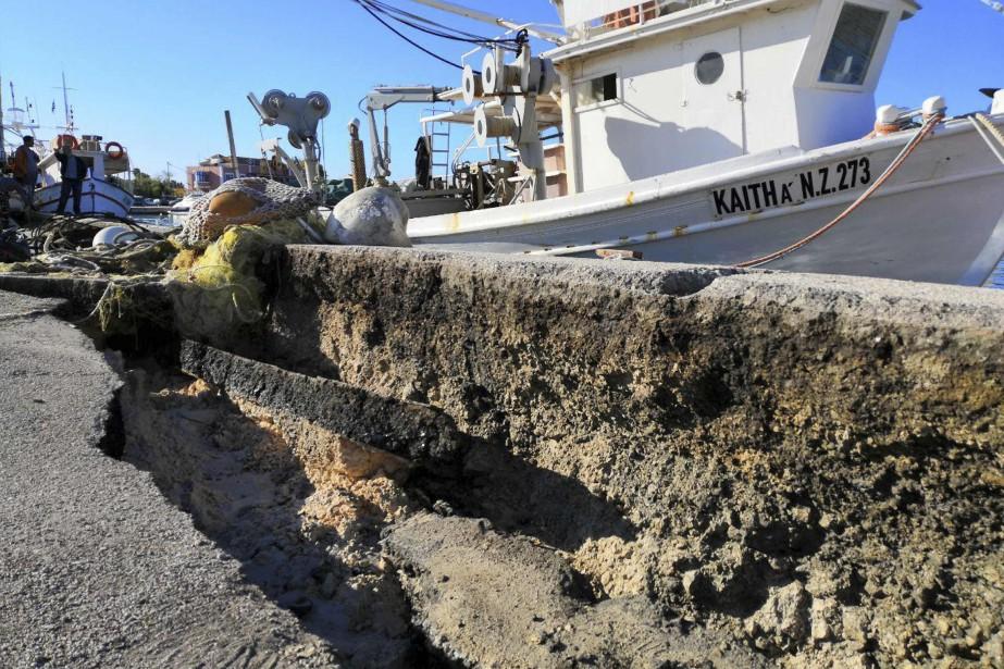 La magnitude de cette secousse tellurique dans cette... (Photo Agence France-Presse)