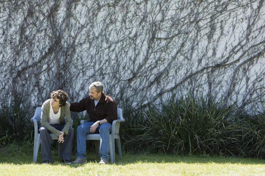 Timothée Chalamet et Steve Carell dans Beautiful Boyde... (Photo fournie parVVS Films)