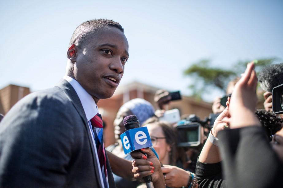 Duduzane Zuma est accusé d'avoir provoqué la mort... (Photo GULSHAN KHAN, Agence France-Presse)