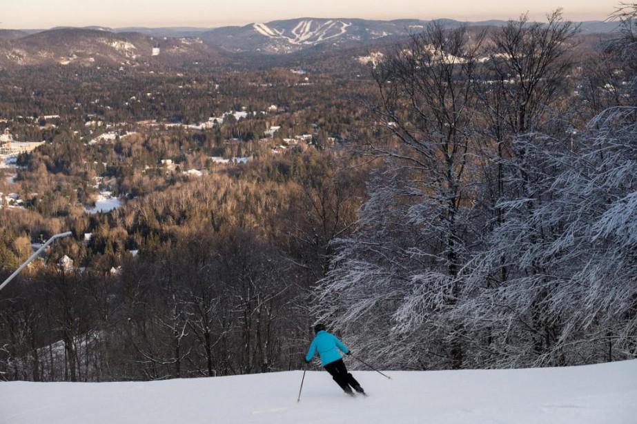 Depuis mercredi, les cartes Skis Passe-Partout sont en... (Photo Hugo-Sébastien Aubert, Archives La Presse)