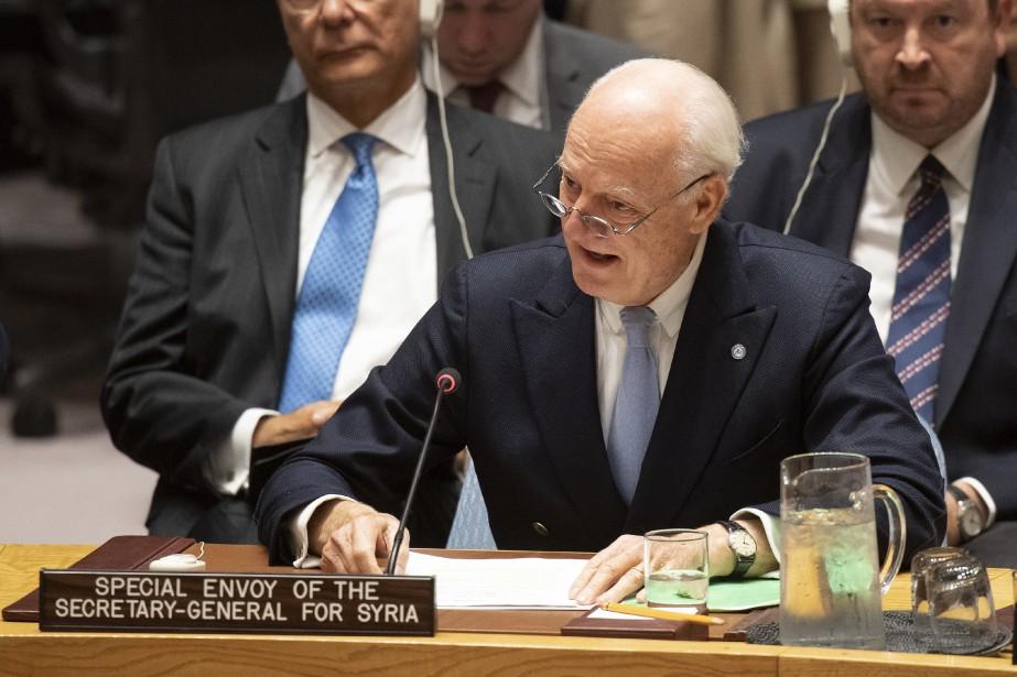 Vendredi, lors d'une réunion du Conseil de sécurité... (Photo Eskinder Debebe, Associated Press)