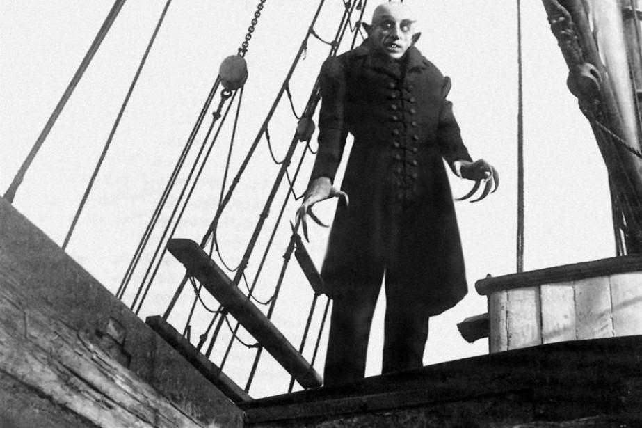 Scène de Nosferatu, chef-d'oeuvre de Friedrich Wilhelm Murnau... (Photo fournie parFilms sans Frontières)
