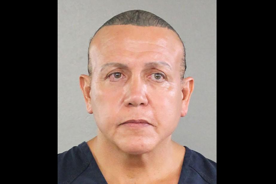 Cesar Sayoc risquejusqu'à 58 ans de prison.... (PHOTO AFP/BUREAU DU SHÉRIF DU COMTÉ DE BROWARD)