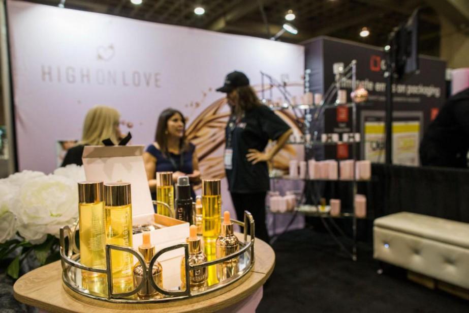 L'entreprise High on Love faisait partie de l'Expo... (Photo Martin Tremblay, La Presse)