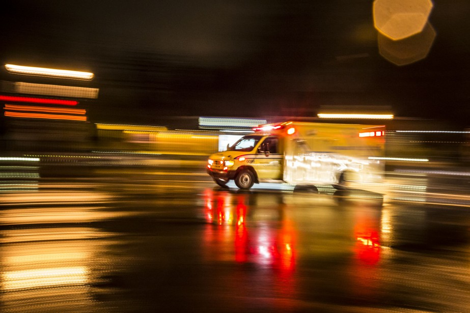 L'accident est survenu en début de soirée à... (PHOTO OLIVIER PONTBRIAND, ARCHIVES LA PRESSE)