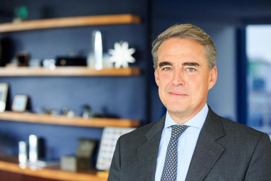 Alexandre de Juniac, président de l'Association internationale du... (Photo EdouardPlante-Fréchette, La Presse)