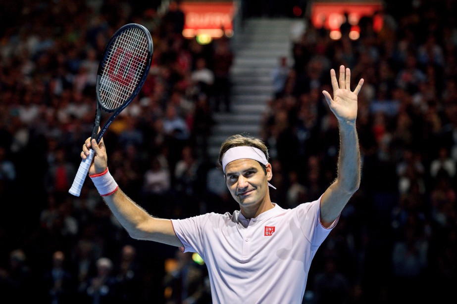 Roger Federer... (Photo FABRICE COFFRINI, AFP)