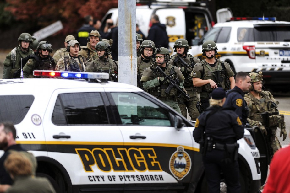 Selon les médias américains, il y a eu... (PHOTO Alexandra Wimley, AP/Pittsburgh Post-Gazette)