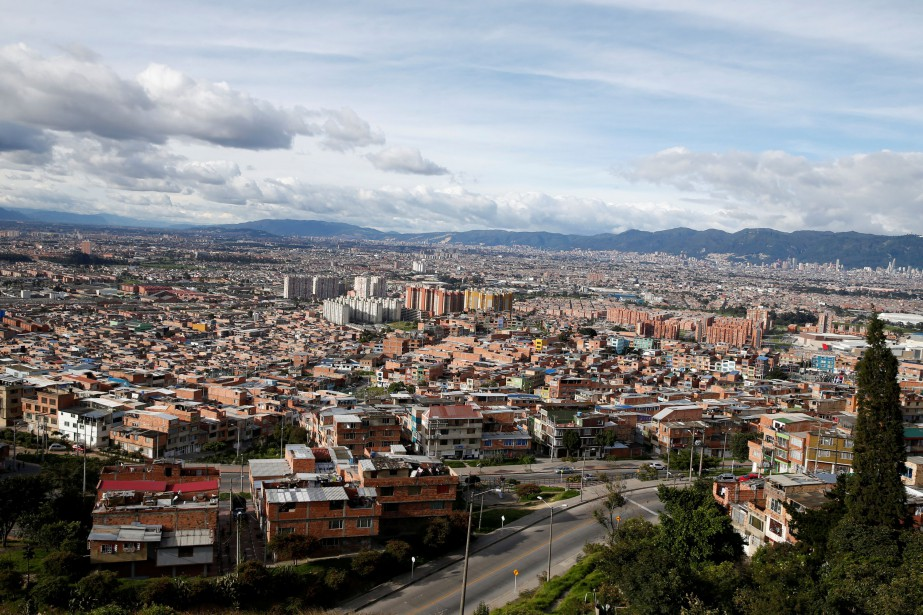La ville de Bogota, en Colombie... (Photo ANDRES STAPFF, archives REUTERS)