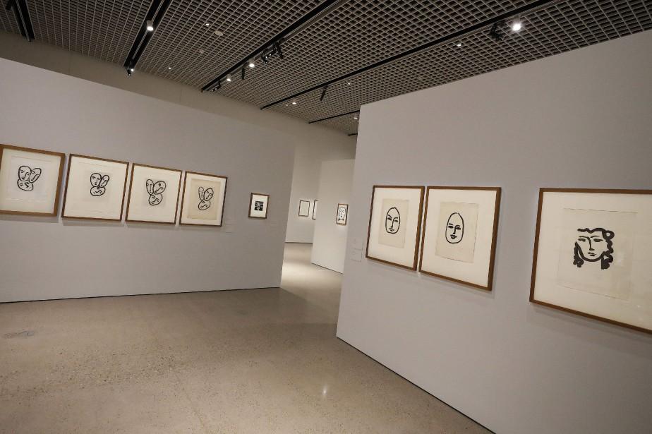 Illustrations d'Henri Matisse exposées au Heard Museum, à... (Photo Matt York, AP)