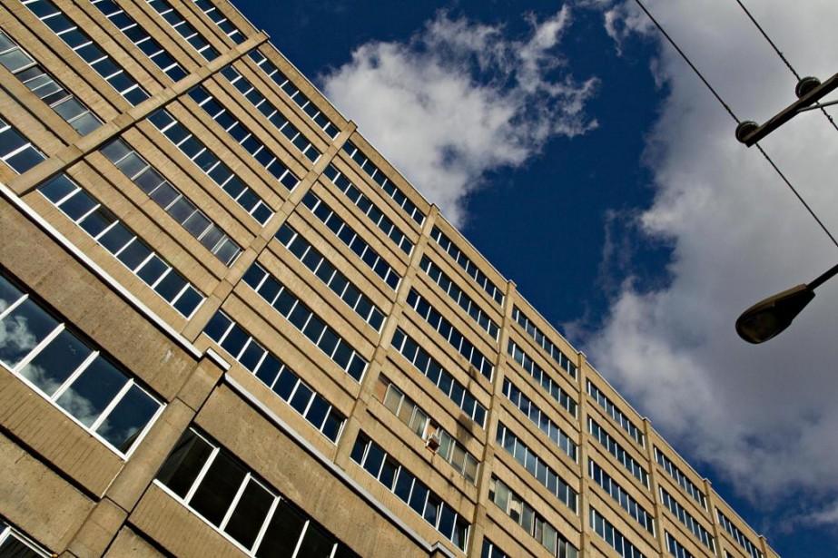 Sur la photo, un édifice de l'avenue De... (Photo Alain Décarie, Archives La Presse)