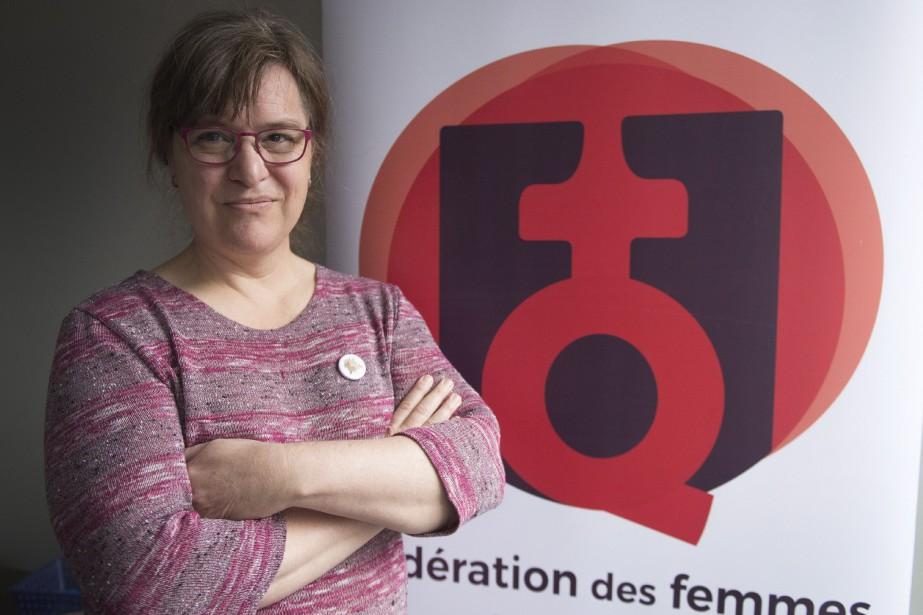 La présidente de la Fédération, Gabrielle Bouchard... (Photo Ryan Remiorz, archives La Presse canadienne)