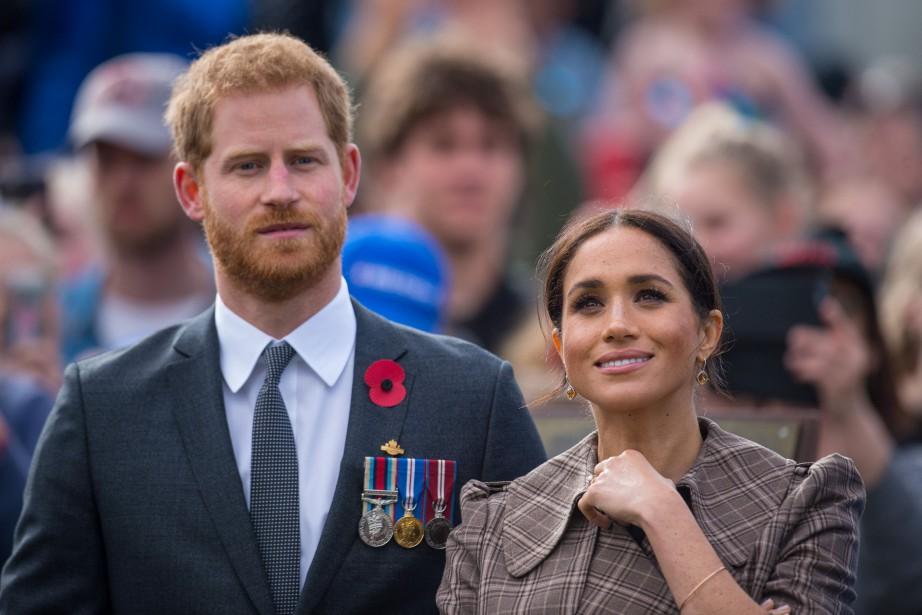 Le prince Harry et son épouse, Meghan Markle... (Photo Dominic Lipinski, REUTERS)