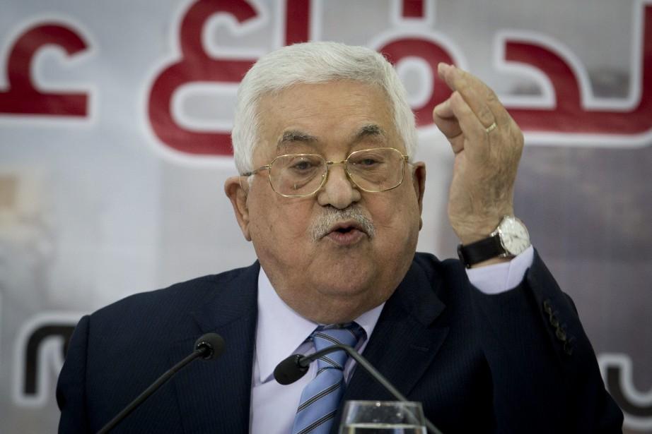 Le président palestinien Mahmoud Abbas... (Photo Majdi Mohammed, AP)