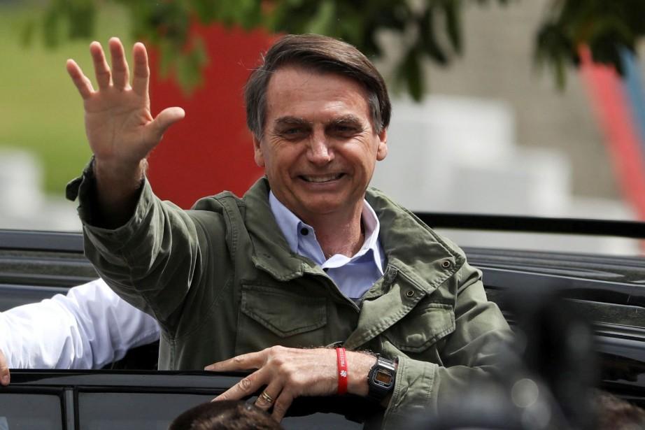 Jair Bolsonaro... (Photo PILAROLIVARES, REUTERS)