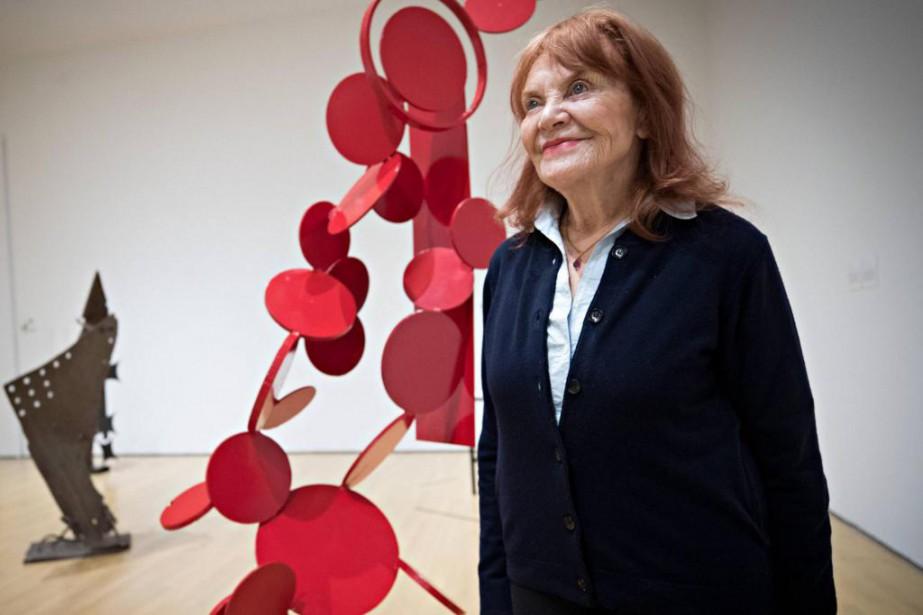 Danseuse-chorégraphe, peintre, sculptrice, écrivaine, réalisatrice, artiste conceptuelle, Françoise... (Photo Patrick Sanfaçon, La Presse)