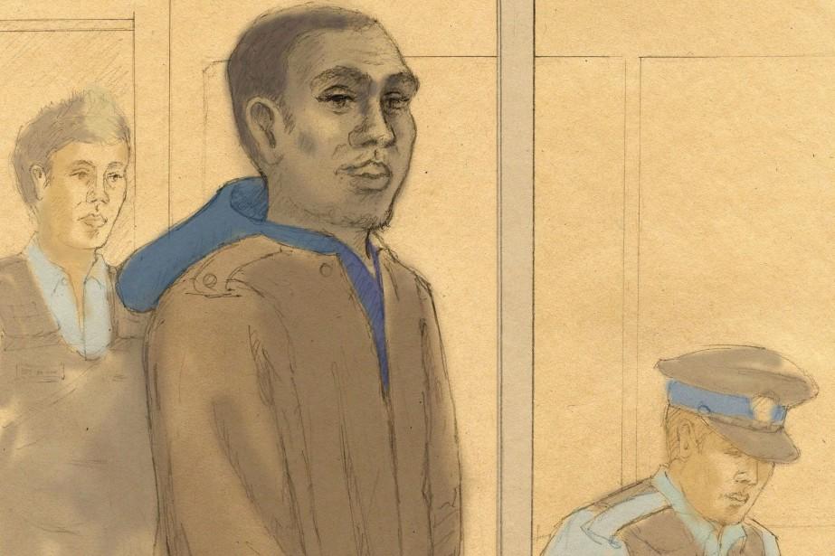 Un dessin représentant Christopher Husbands, en 2012.... (Photo Tammy Hoy, archives La Presse canadienne)
