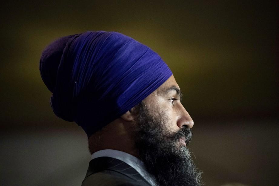 Jagmeet Singh... (Photo JustinTang, archives La Presse canadienne)