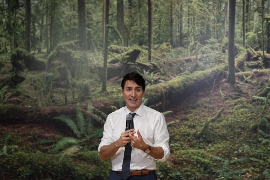 JustinTrudeau... (Photo AdrianWyld, La Presse canadienne)