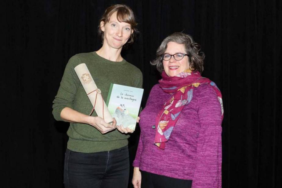 Marianne Dubuc a remporté le Prix du livre... (Photo Sarah Latulipe, fournie par la Ville de Montréal)