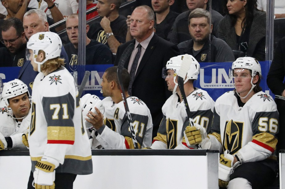 Jusqu'ici en 2018-2019, Vegas a accordé 30 buts... (Photo John Locher, Associated Press)