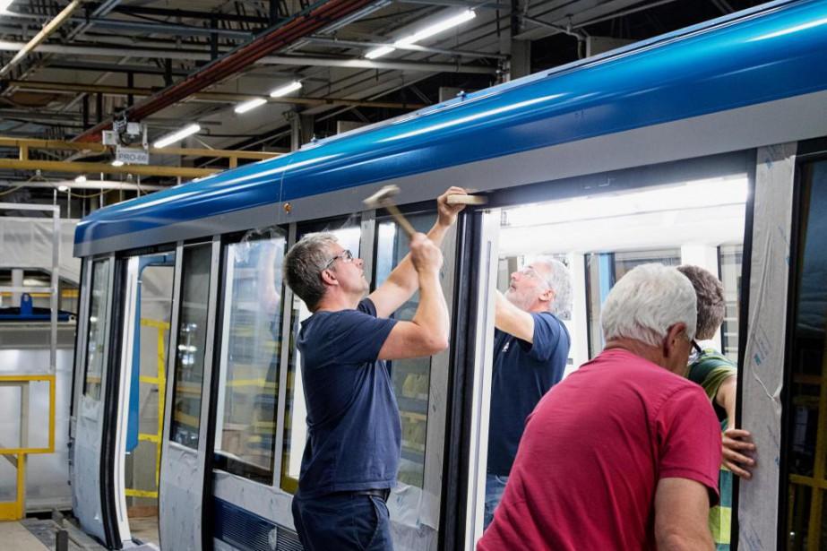 L'usinede Bombardier à La Pocatière avait déjà construit... (Photo Alain Roberge, Archives La Presse)