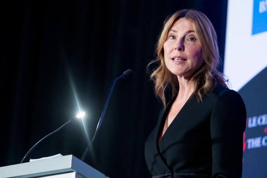 Manon Brouillette, présidente et chef de la direction... (Photo Marco Campanozzi, La Presse)