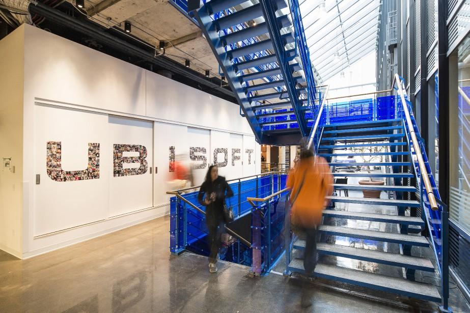 Ubisoft a réitéré ses objectifs financiers annuels, dont... (La Presse)