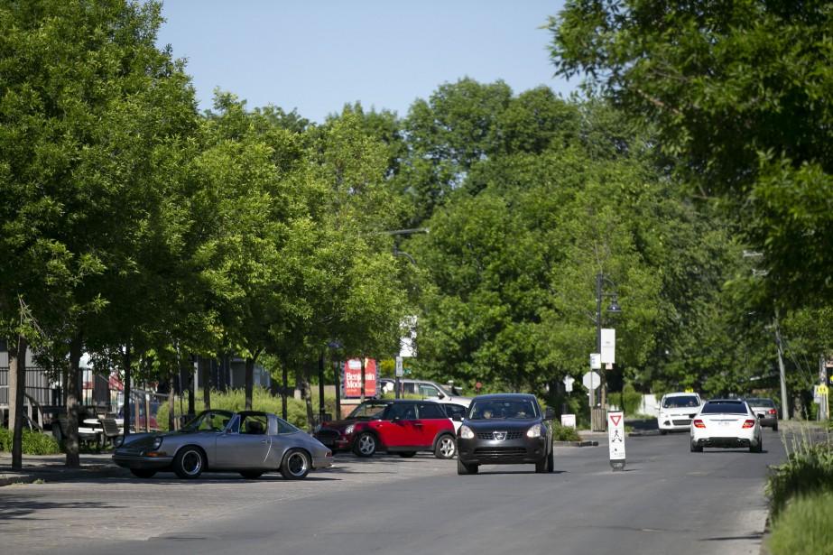 Une rue de Beaconsfield.... (Photo David Boily, archives La Presse)