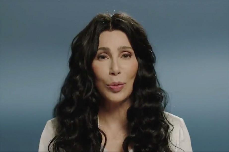 La chanteuse Cher... (Photo tirée d'une vidéo)