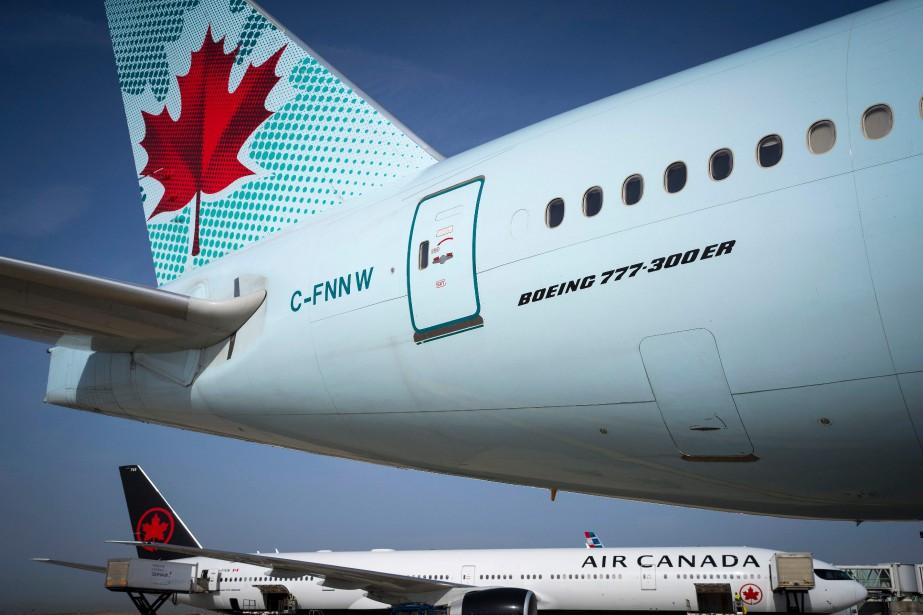Air Canada a affiché un profit de 645millions... (Photo JOEL SAGET, AFP)