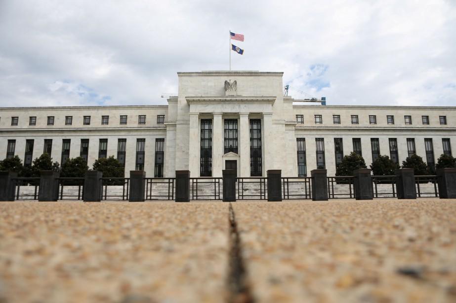 Le patron de la Fed, Jerome Powell, un... (Photo Chris Wattie, REUTERS)