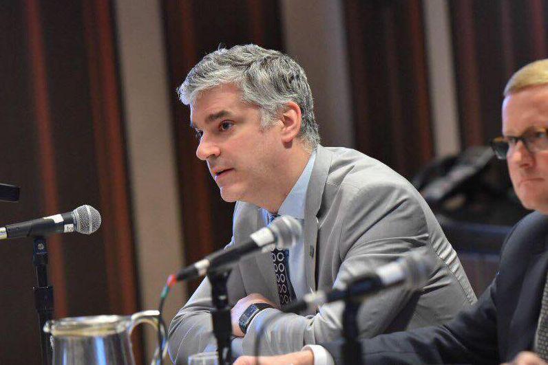 PHOTO TIRÉE DE FACEBOOK... (Pierre-Yves Boivin était jusqu'à la semaine dernière inscrit au registre des lobbyistes pour la Fédération des chambres de commerce du Québec (FCCQ), qui a fait pression pour l'exploitation pétrolière à l'île d'Anticosti.)