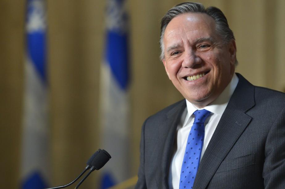 Le premier ministre du Québec, François Legault... (Photo Pascal Ratthé, Le Soleil)