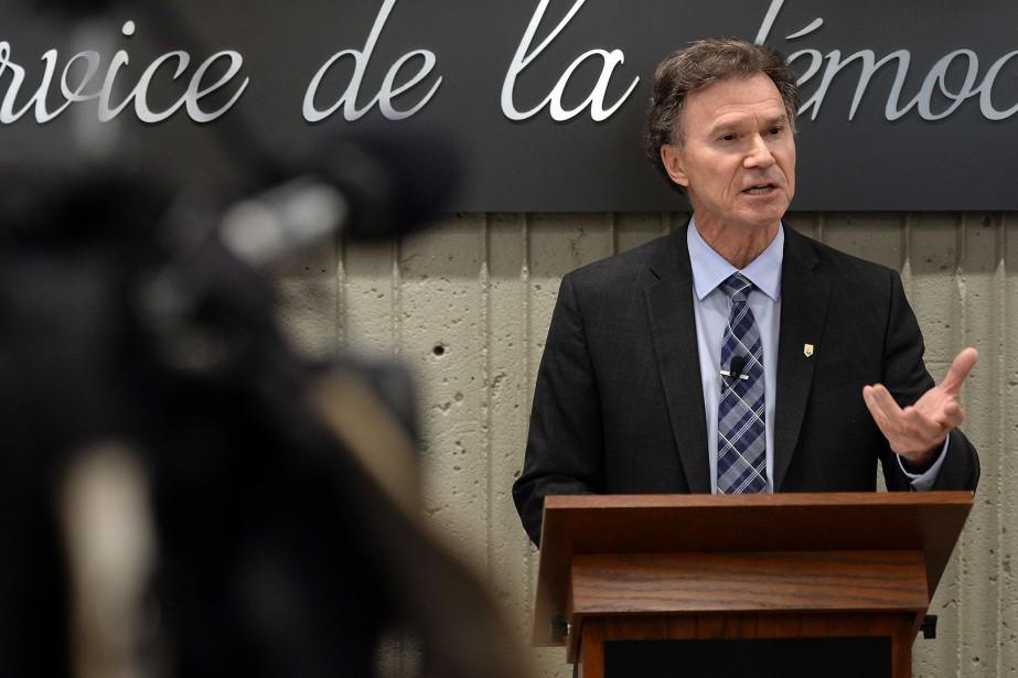 Le directeur général des élections du Québec, Pierre... (Photo Érick Labbé, archives Le Soleil)