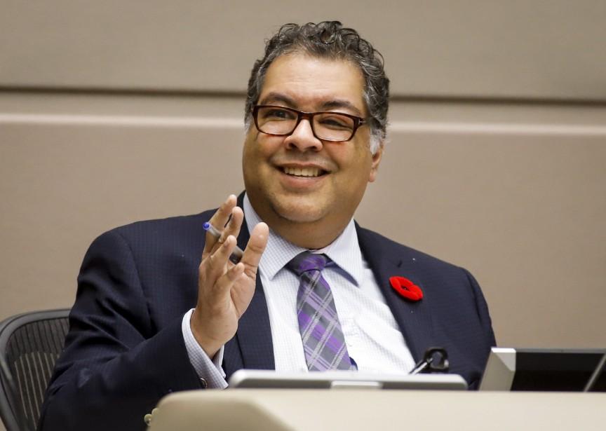 Le maire de Calgary Naheed Nenshi avait demandé... (Photo Jeff McIntosh, THE CANADIAN PRESS)