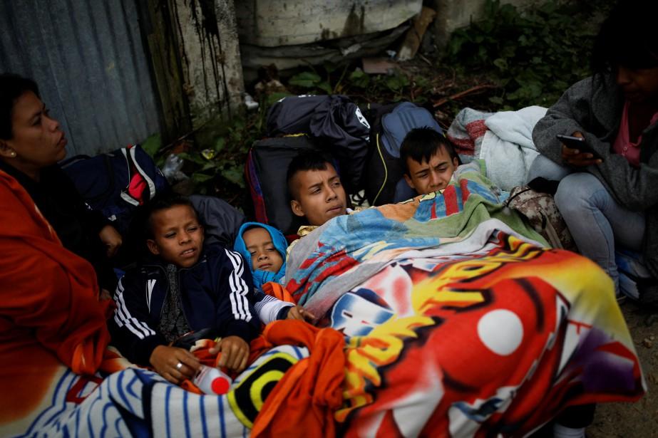 Selon l'ONU, près de 1,9million de personnes ont... (Photo CARLOS GARCIA RAWLINS, archives REUTERS)