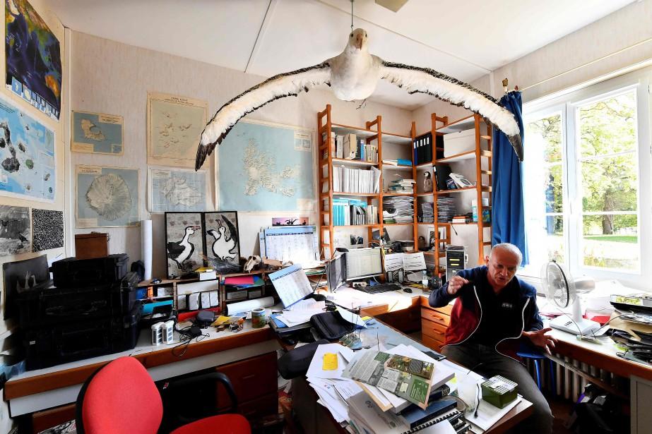 Le directeur de l'équipe Biodiversité des oiseaux et... (Photo GEORGES GOBET, archives Agence France-Presse)