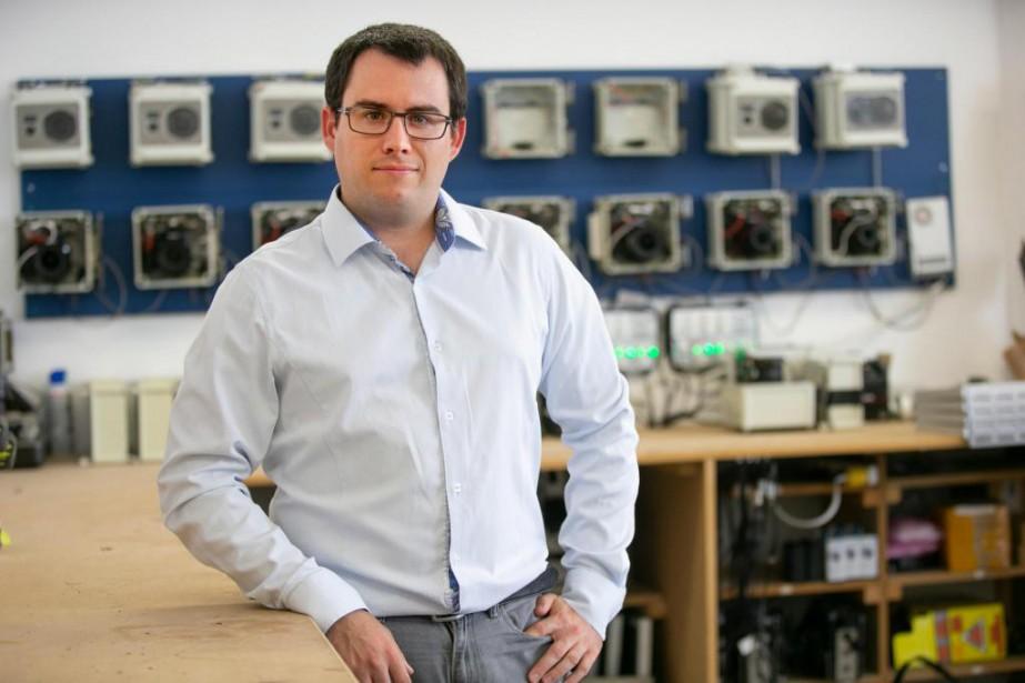 Benjamin Legrand, directeur des opérations chezDevisubox pour le... (Photo David Boily, La Presse)