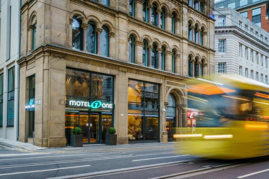 Le Motel One Manchester-Royal Exchange a été construit... (PHOTO FOURNIE PAR MOTEL ONE)