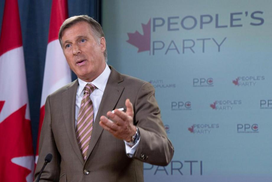 Maxime Bernier a annoncé en septembre dernier la... (PHOTO ADRIAN WYLD, ARCHIVES LA PRESSE CANADIENNE)