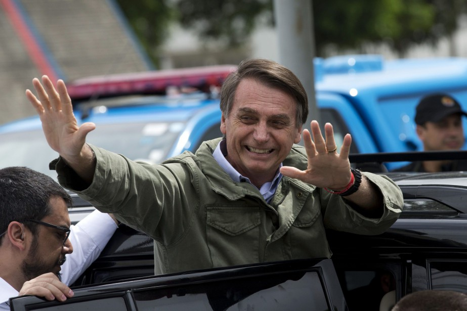 Jair Bolsonaro... (Photo Silvia Izquierdo, Associated Press)
