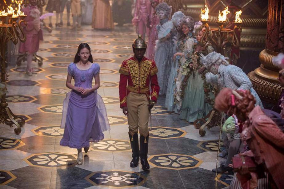 Mackenzie Foy et Jayden Fowora-Knight incarnent Clara et... (Photo fournie par Disney Studios)