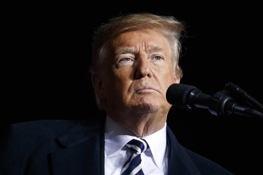 Sur le ton, comme sur la forme, Donald... (Photo Evan Vucci, Associated Press)